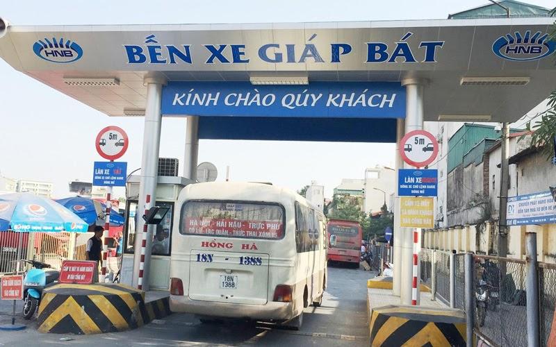 Bến xe Giáp Bát (Nguồn ảnh: Internet)