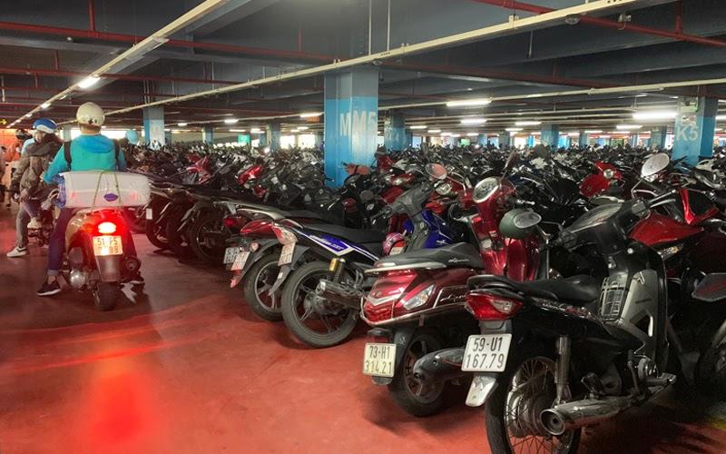 Gửi xe máy ở sân bay Nội Bài (Nguồn ảnh: Internet)
