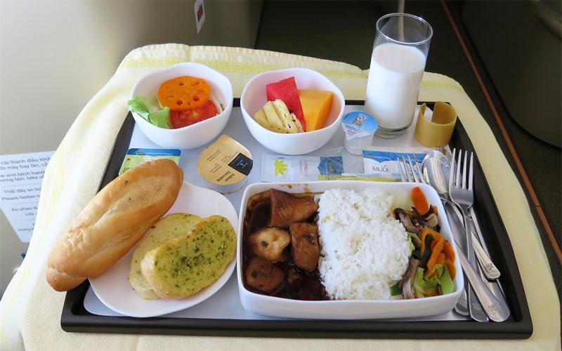 Suất ăn trên máy bay (Nguồn ảnh: Internet)