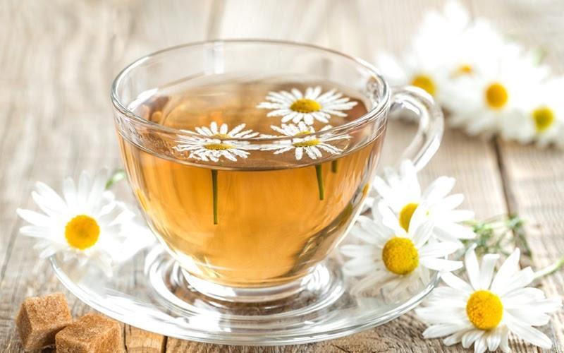 Trà hoa cúc có tác dụng làm dịu dạ dày (Nguồn ảnh: Internet)
