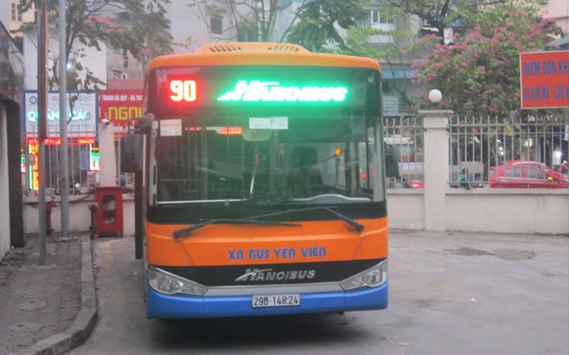 Xe bus số 90 (Nguồn ảnh: Internet)