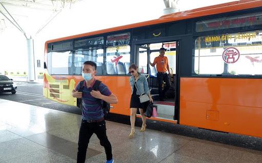 Xe bus đi sân bay Nội Bài (Nguồn ảnh: Internet)