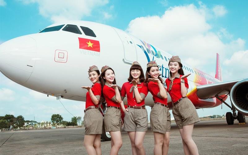 Hãng hàng không Vietjet Air (Nguồn ảnh: Internet)