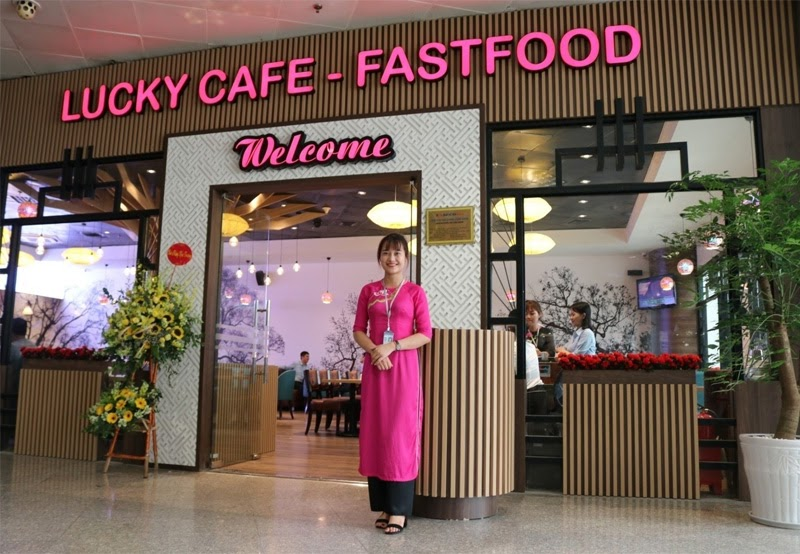 Nhà hàng Lucky Cafe & Fastfood (Nguồn ảnh: Internet)