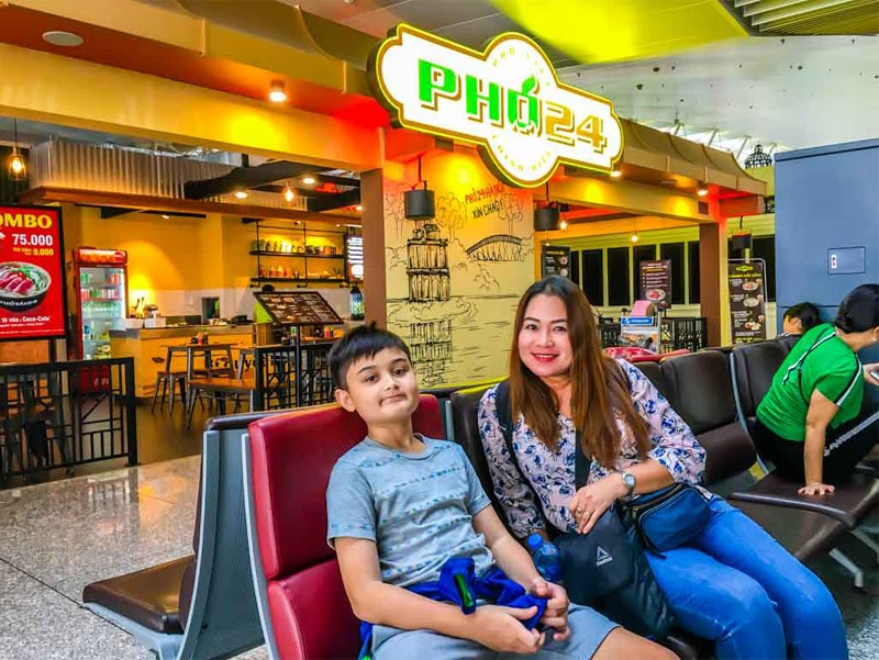 Ăn gì ở sân bay Nội Bài (Nguồn ảnh: Internet)