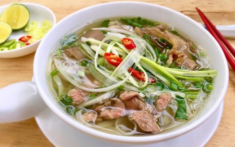 Phở bò Hà Nội (Nguồn ảnh: Internet)