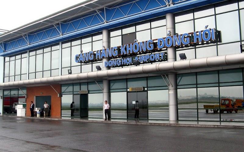 Sân bay Đồng Hới (Nguồn ảnh: Internet)