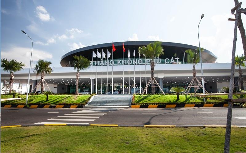 Sân bay Phù Cát (Nguồn ảnh: Internet)