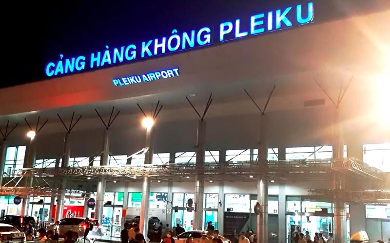 Sân bay Pleiku (Nguồn ảnh: Internet)