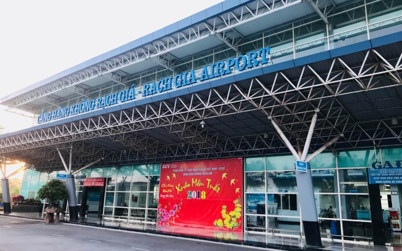 Sân bay Rạch Giá (Nguồn ảnh: Internet)